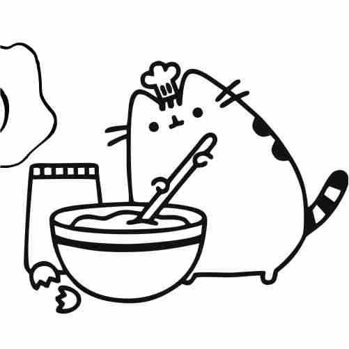 Dibujos de pusheen repostero