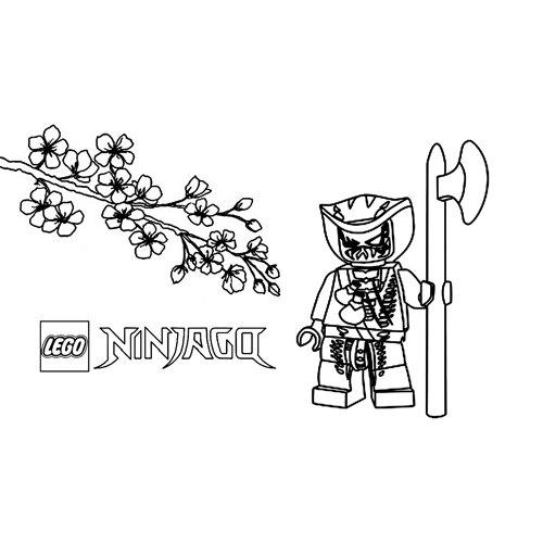 scales lego ninjago para colorear