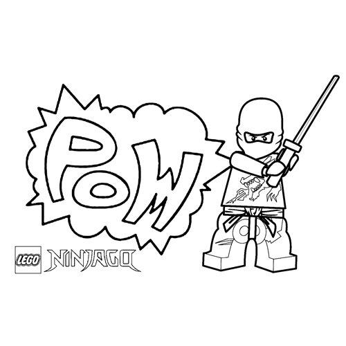comics floyd ninjago para colorear
