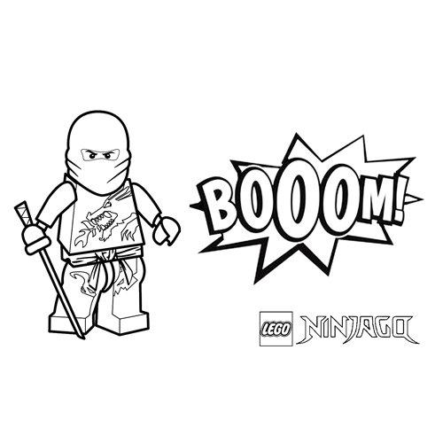 comics ninja floyd ninjago para colorear
